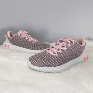 NEW under armour ripple mauve running shoes gym